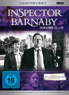 Inspector Barnaby Collector's Box 5 (Vol. 21-25), 20 DVDs
