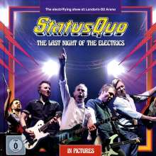 Status Quo: The Last Night Of The Electrics (earBook) (Limited Edition), 2 CDs, 1 DVD und 1 Blu-ray Disc
