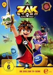Zak Storm DVD 1: Captain Zak, DVD