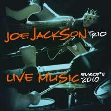 Joe Jackson (geb. 1954): Live Music - Europe 2010 (180g), 2 LPs