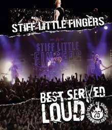 Stiff Little Fingers: Best Served Loud: Live At Barrowland, Blu-ray Disc