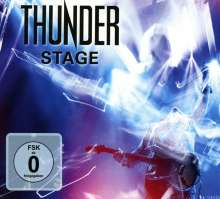 Thunder: Stage (Live In Cardiff) (Limited-Edition), 3 CDs