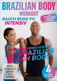 Brazilian Body Workout - Bauch, Beine, Po intensiv, DVD