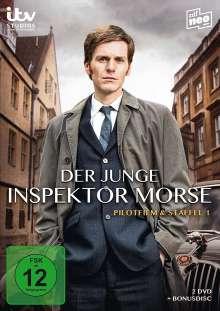 Der junge Inspektor Morse Staffel 1, 3 DVDs
