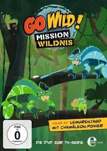 Go Wild! - Mission Wildnis Folge 27: Lemurenjagd mit Chamäleon-Power, DVD