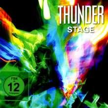 Thunder: Stage (Limited Super Video Box Set), 1 Blu-ray Disc und 1 DVD