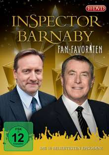 Inspector Barnaby: Fan-Favoriten, 10 DVDs