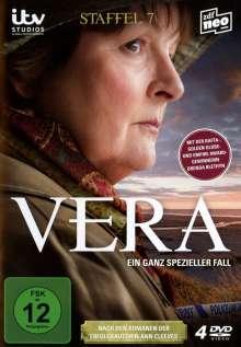 Vera Staffel 7, 4 DVDs