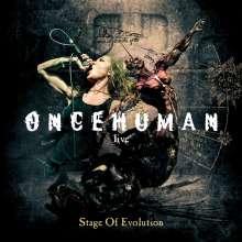 Once Human: Stage Of Evolution: Live, CD