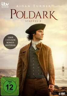 Poldark Staffel 2, 4 DVDs