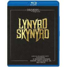 Lynyrd Skynyrd: Live In Atlantic City, Blu-ray Disc