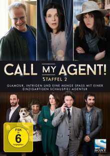 Call my Agent! Staffel 2, 2 DVDs