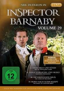 Inspector Barnaby Vol. 29, 4 DVDs