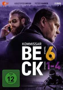 Kommissar Beck Staffel 6 Episode 1-4, 2 DVDs