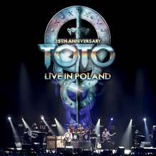 Toto: 35th Anniversary Tour: Live In Poland (180g) (Limited-Numbered-Edition), 3 LPs