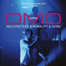 OMD (Orchestral Manoeuvres In The Dark): Architecture & Morality & More - Live (remastered) (180g) (Limited Numberd Edition), 2 LPs und 1 CD