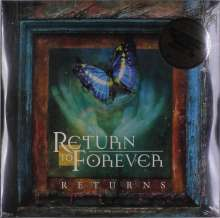 Return To Forever: Returns – Live (remastered) (180g) (Limited Numbered Edition), 4 LPs und 2 CDs