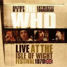 The Who: Live At The Isle Of Wight Festival 1970 (180g) (Limited Numbered Edition), 3 LPs und 2 CDs