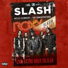 Slash: Live At The Roxy (180g) (Limited Numbered Edition), 5 LPs