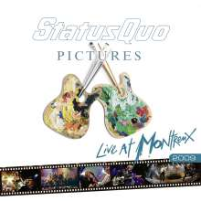 Status Quo: Pictures - Live At Montreux 2009 (180g) (Limited-Numbered-Edition), 2 LPs