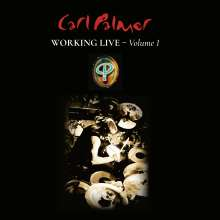 Carl Palmer (ex-E. L.P.): Working Live - Volume 1 (180g) (Limited-Numbered-Edition), LP
