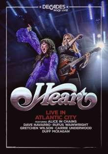 Heart: Live In Atlantic City, DVD