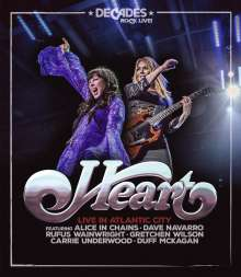 Heart: Live In Atlantic City, Blu-ray Disc
