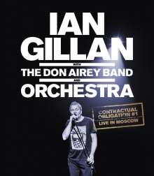 Ian Gillan: Contractual Obligation # 1: Live In Moscow, Blu-ray Disc