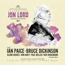 Jon Lord (1941-2012): Celebrating Jon Lord - The Rock Legend Vol.1 (180g) (Limited-Edition), 1 LP und 1 Blu-ray Disc