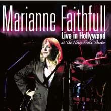 Marianne Faithfull: Live In Hollywood, CD