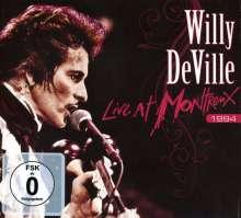 Willy DeVille: Live At Montreux 1994, 1 CD und 1 DVD