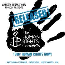 Released! The Human Rights Concerts 1988, 2 CDs