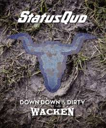 Status Quo: Down Down & Dirty At Wacken, CD