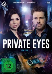 Private Eyes Staffel 1, 3 DVDs