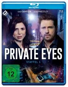Private Eyes Staffel 1 (Blu-ray), 2 Blu-ray Discs