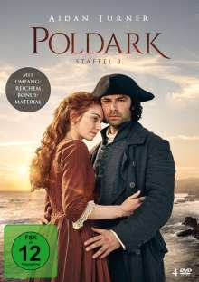 Poldark Staffel 3, 4 DVDs