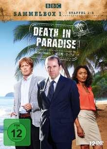 Death in Paradise Staffel 1-3 (Sammelbox 1), 12 DVDs