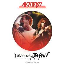 Alcatrazz: Live In Japan 1984 (Complete Edition), 2 CDs und 1 DVD