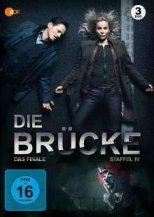 Die Brücke - Transit in den Tod Staffel 4 (finale Staffel), 3 DVDs
