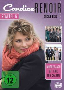 Candice Renoir Staffel 6, 3 DVDs