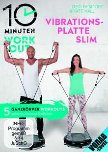 10 Minuten Workout - Vibrationsplatte Slim, DVD