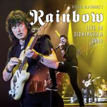 Rainbow: Live In Birmingham 2016 (180g) (Limited-Numbered-Edition) (White Vinyl), 3 LPs