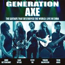 Generation Axe: The Guitars That Destroyed The World: Live In China, CD