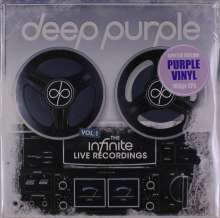 Deep Purple: The Infinite Live Recordings Vol. 1 (180g) (Limited Edition) (Purple Vinyl), 3 LPs
