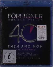 Foreigner: Double Vision: Then And Now - Live Reloaded, 2 CDs