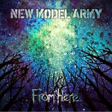 New Model Army: From Here (Mediabook), CD