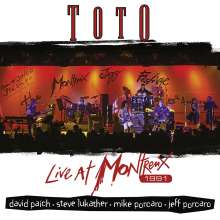Toto: Live At Montreux 1991 (180g) (Limited Edition), 2 LPs
