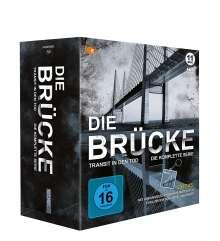 Die Brücke - Transit in den Tod (Komplette Serie) (Blu-ray), 13 Blu-ray Discs