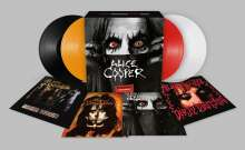 Alice Cooper: Treasures - A Vinyl Collection (Limited Boxset), 4 LPs