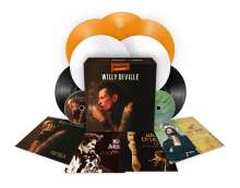 Willy DeVille: Treasures - A Vinyl Collection (180g) (Limited Numbered Boxset Edition), 9 LPs